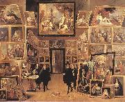 TENIERS, David the Younger Archduke Leopold Wilhelm in his Gallery fyjg oil painting picture wholesale